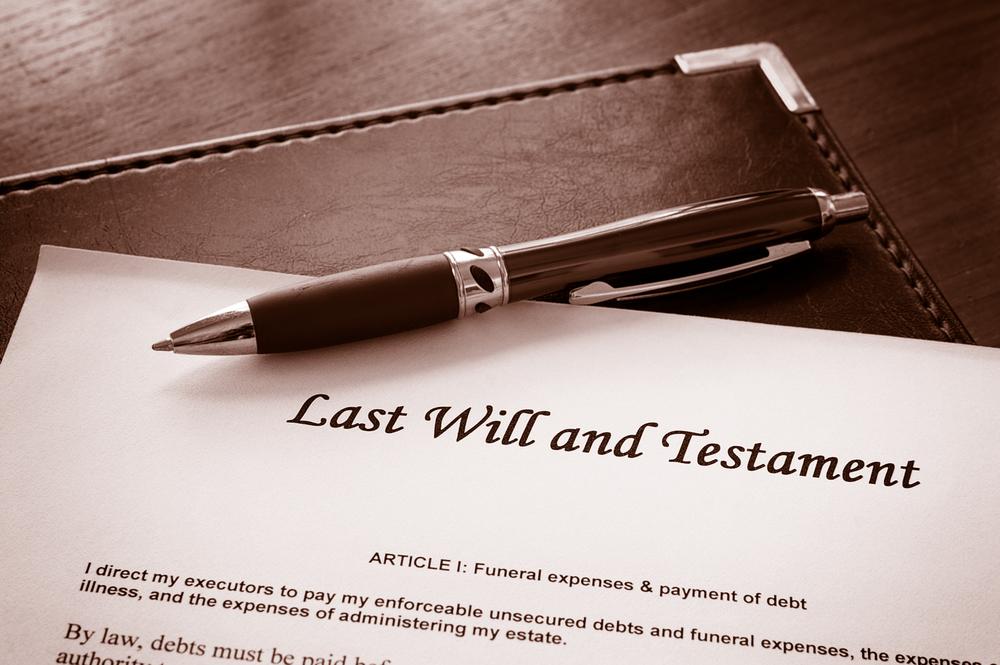 Que es un testamento